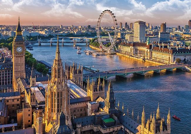 Пазл Лондонские достопримечательности 1000 эл - 1