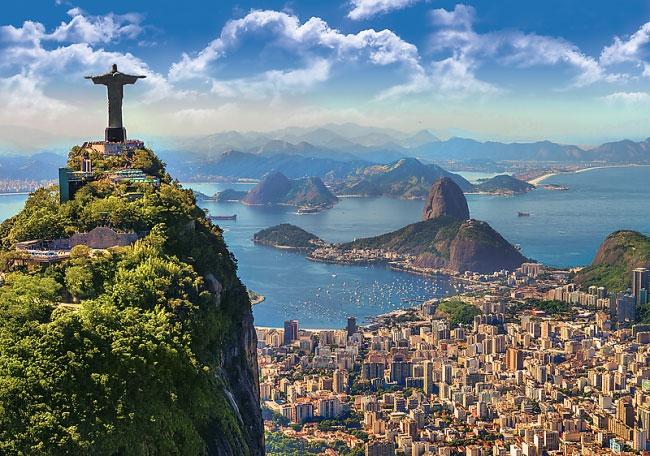 Пазл Рио де Жанейро 1000 эл - 1