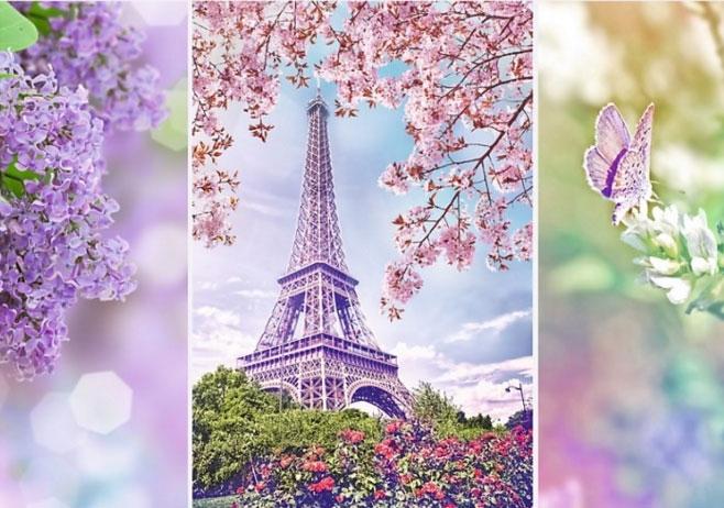 Пазл Весна в Париже серия Романтик 1000 эл - 1