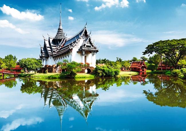 Пазл Дворец Санпет Прасат Бангкок Таиланд 1000 эл - 1
