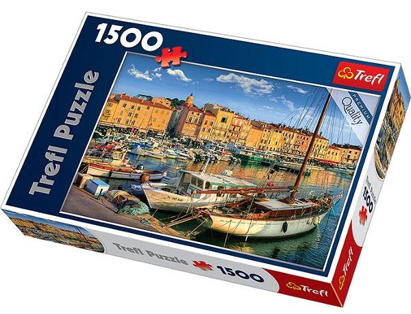 Пазл Старый порт в Сент Тропез 1500 эл - 1