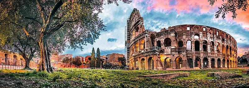 Пазл Колизей на рассвете 1000 эл панорама - 1