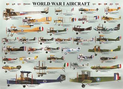 Пазл Самолеты 1-й Мировой войны 1000 эл - 1