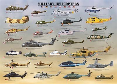 Пазл Военные вертолеты 1000 эл - 1