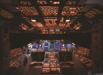 Пазл Кабина космического корабля Шатлл 1000 эл - 1