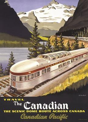 Пазл копия картины Канадский экспресс Роджер Коуиллард 1000 эл - 1