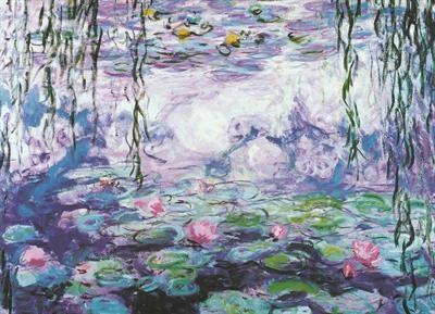 Пазл копия картины Водяные лилии Клод Оскар Моне 1000 эл - 1