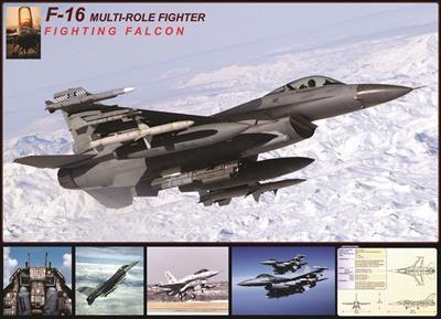 Пазл Фалкон F-16 в полете 1000 эл - 1