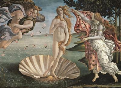Пазл копия картины Рождение Венеры Сандро Боттичелли 1000 эл - 1