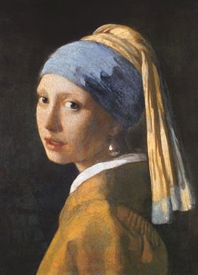 Пазл копия картины Девушка с жемчужной серёжкой Ян Вермеер 1000 эл - 1