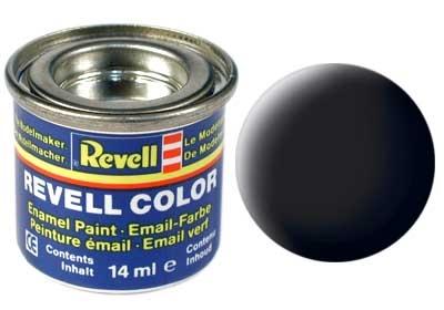 Краска для моделей - цвет Black (серия Solid Matt) - 1