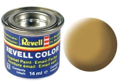 Краска для моделей - цвет Sandy yellow (серия Solid Matt) - 1