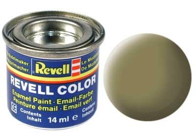 Краска для моделей - цвет Yellowish olive (серия Solid Matt) - 1