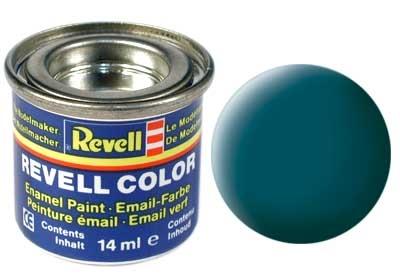 Краска для моделей - цвет Sea green (серия Solid Matt) - 1