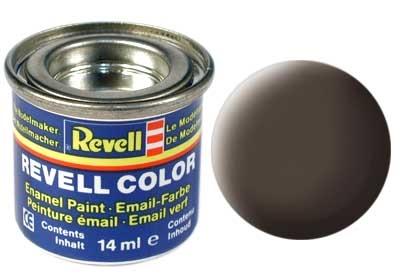 Краска для моделей - цвет Leather brown (серия Solid Matt) - 1
