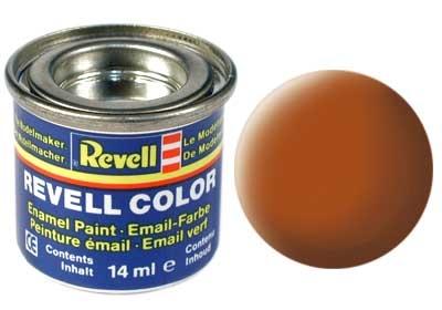 Краска для моделей - цвет Brown (серия Solid Matt) - 1