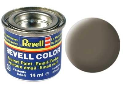 Краска для моделей - цвет Olive brown (серия Solid Matt) - 1