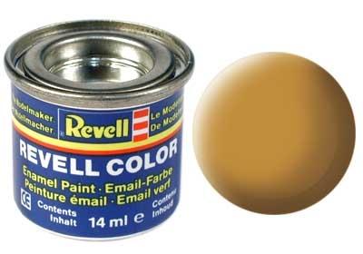 Краска для моделей - цвет Ochre brown (серия Solid Matt) - 1
